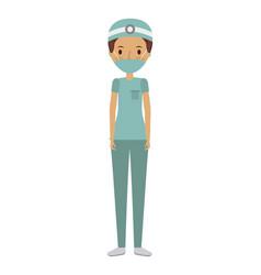 Medical doctor woman vector