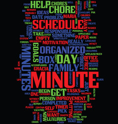 Minute tricks to help you get organized text vector