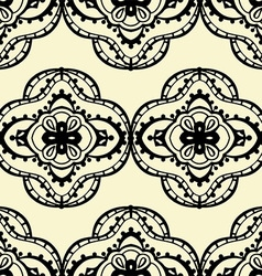 Retro mandala patterned background vector