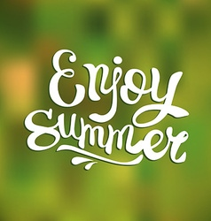 Enjoy summer vector