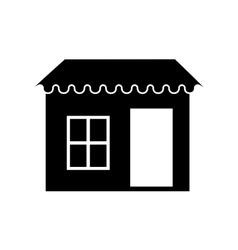 Door window property exterior icon vector