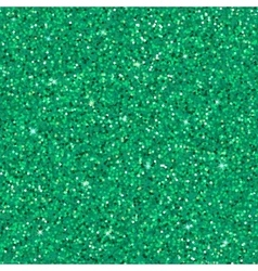 Emerald glitter background vector image