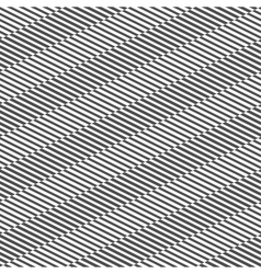 Seamless pattern with black and white stripes vector