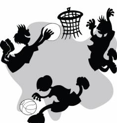 street ball vector image