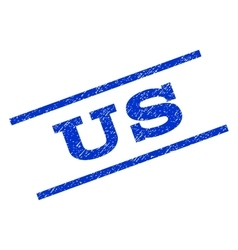 Us Watermark Stamp vector image