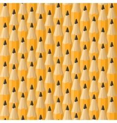 Classic oranga pencils seamless background vector