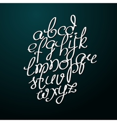 Handmade brush script good lettering eps vector
