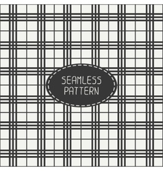Geometric striped hipster seamless linear pattern vector image