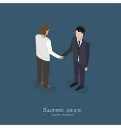 Partnership vector image