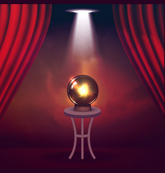 the concept of magic shows and entertainment vector image vector image