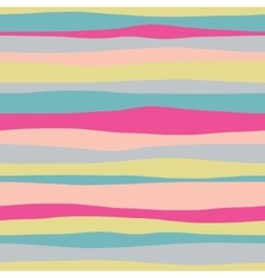 Abstract horizontal colorful seamless pattern vector