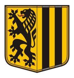 Dresden Coat of Arms vector image