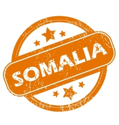 Somalia grunge icon vector