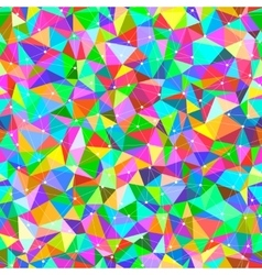 Bright triangles vector