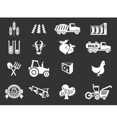 Agricultural icon vector