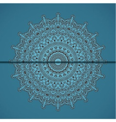 arabesque card vector image vector image