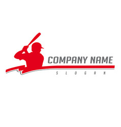 Baseball logo 2 vector