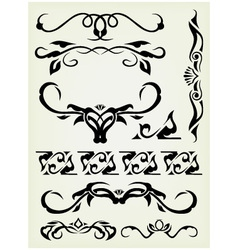 calligraphy vector image vector image