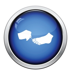 Pedicure icon vector image