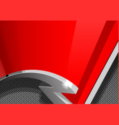 Red and gray design template covers vector