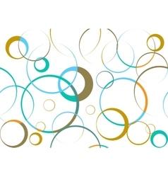 Circular abstract pattern vector image