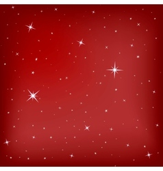 Christmas stars background vector image