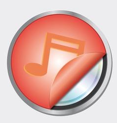 Musical notes logo vector