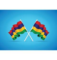 Mauritius flag vector