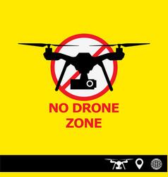 drone vector image vector image