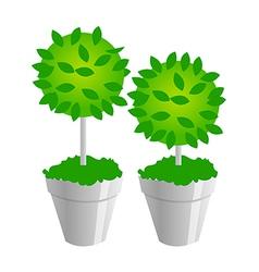 icon plants vector image vector image