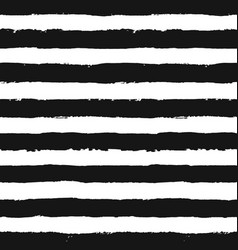 stripes pattern from brush strokes vector image vector image