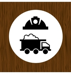 Mining industry design vector