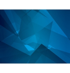 Abstract dark blue background with broken lines vector image