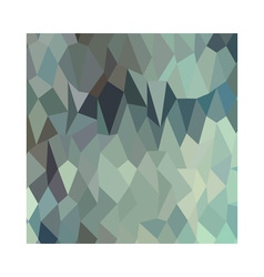 Egyptian blue terraces abstract low polygon vector