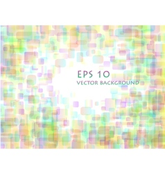 Pastel overlapping rounded rectangle background vector