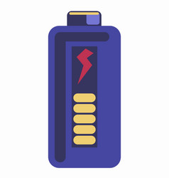 Blue colored energy element vector