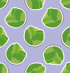 Cabbage pattern seamless texture vector