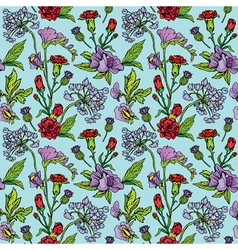 Flowers handdrawn 17 380 vector