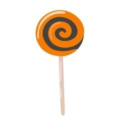 Lolipop candy symbol vector