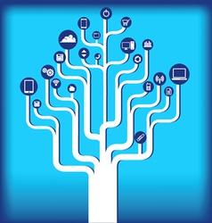 icon tree 112613 vector image