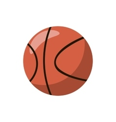 Basketball ball icon cartoon style vector
