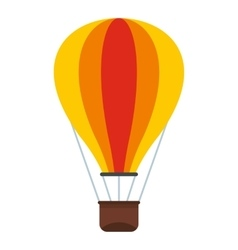 Baloon icon flat style vector