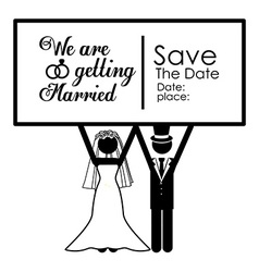Married design vector