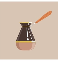 Coffee pot isolated icon from set of coffee vector