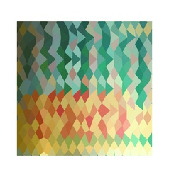 Emerald green harlequins abstract low polygon vector