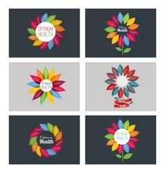Flower healtf vector