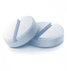 medical pills vector image vector image
