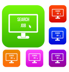 Search job set collection vector