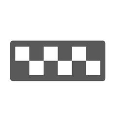 taxi cab icon simple vector image