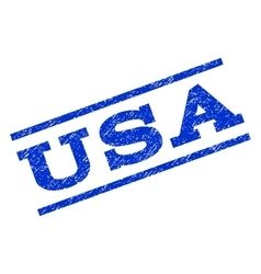 USA Watermark Stamp vector image